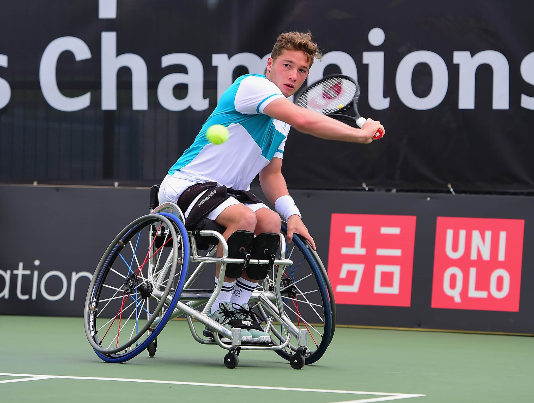 Hewett defeats Reid in British Open Wheelchair Tennis Championships semi-final