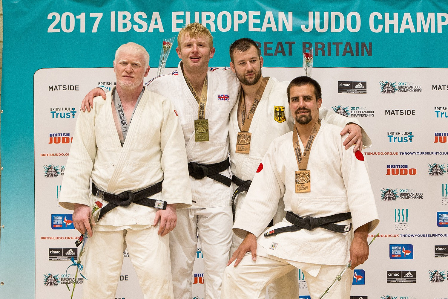 Skelley claims memorable win on home soil at IBSA European Judo Championships