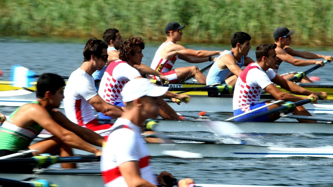 All finals are due to take place tomorrow at the World Rowing Junior Championships ©Getty Images