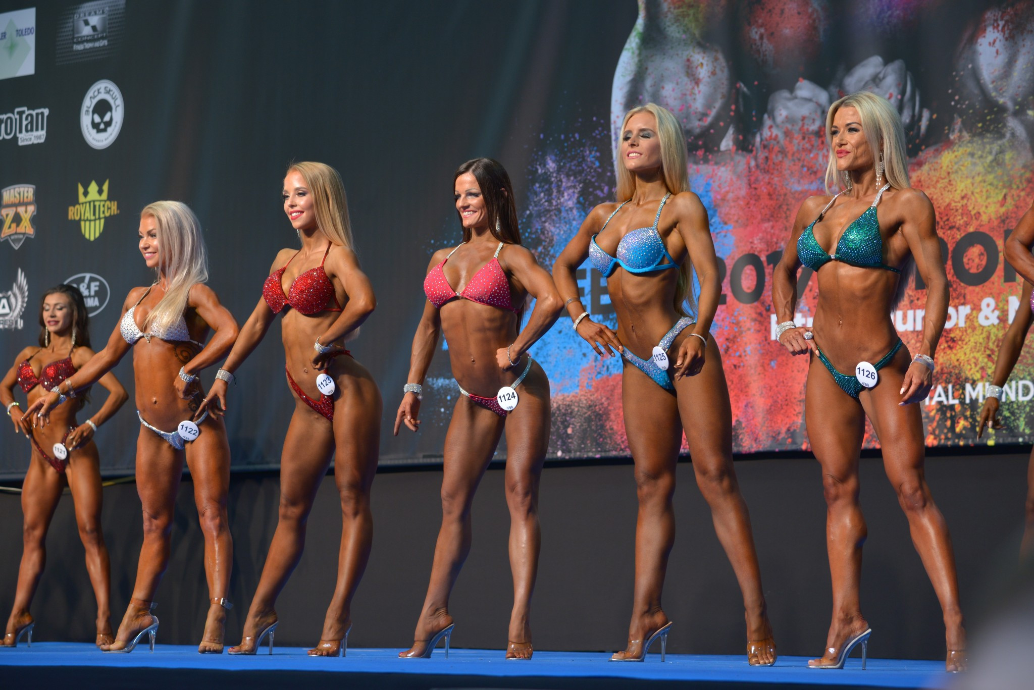 Ranking points are awarded at key events in the IFBB calendar, including the World Championships ©IFBB