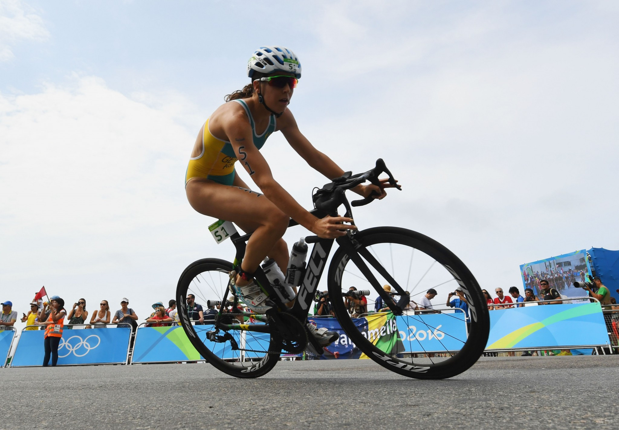 Gentle earns maiden World Triathlon Series win in Montreal