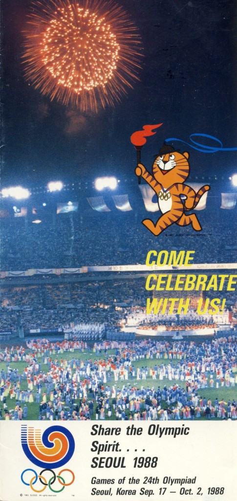 Seoul 1988 mascot, Hodori the tiger, caused arguments with Kellogg's