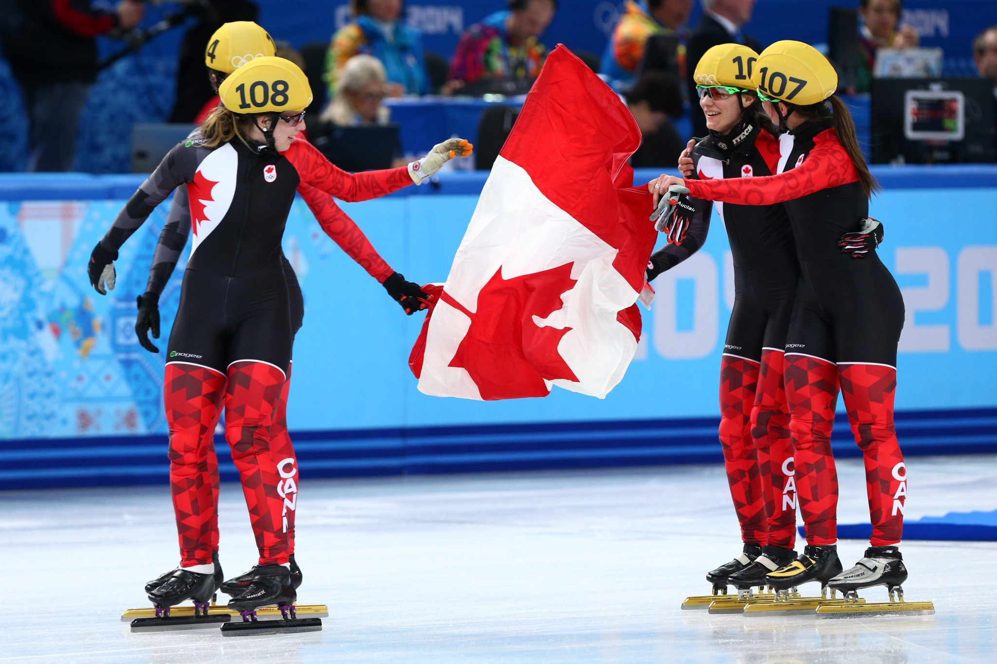 Canadian short track team for Pyeongchang 2018 announced