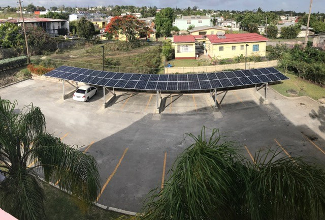 Solar panels have been installed at the Barbados Olympic Association headquarters ©BOA