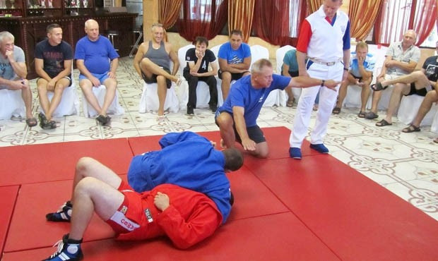 Ukraine Sambo Federation hold referees seminar