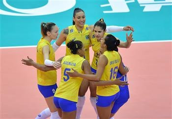 Brazil seal record 12th FIVB World Grand Prix title with victory over Italy
