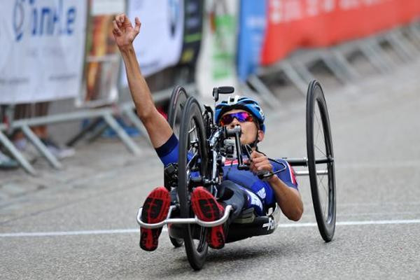 Ustinov breaks 2015 gold medal duck at Para-cycling Road World Cup in Elzach