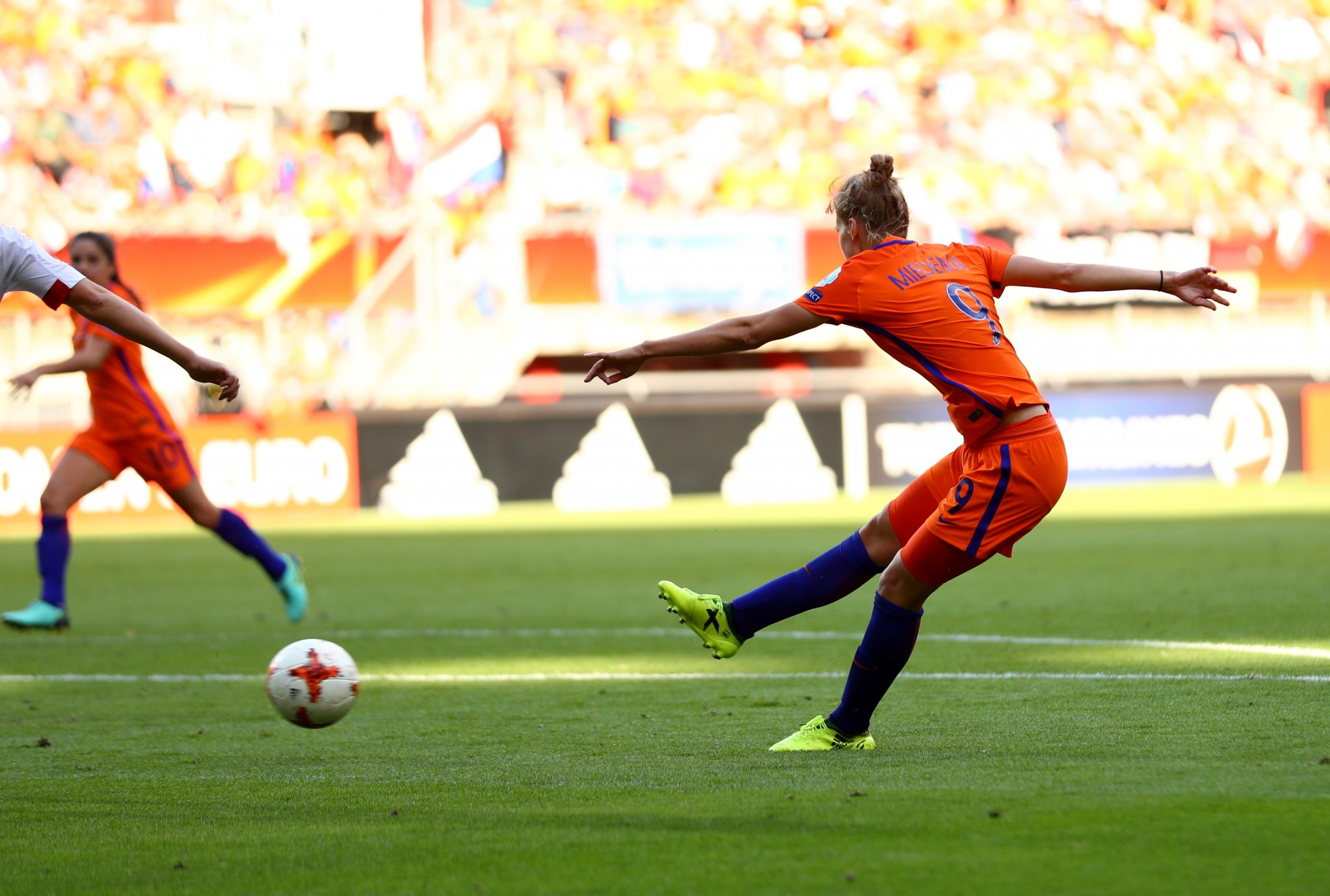 The Netherlands came out on top at the European Championships in 2017, beating Denmark in the final ©Getty Images