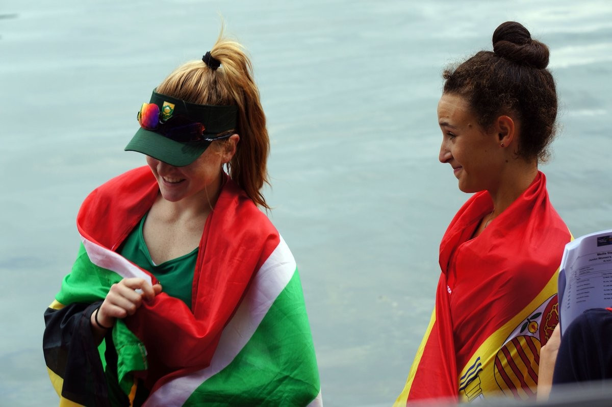 Dean and Zamorani clinch single scull spoils at World Junior Rowing Championships