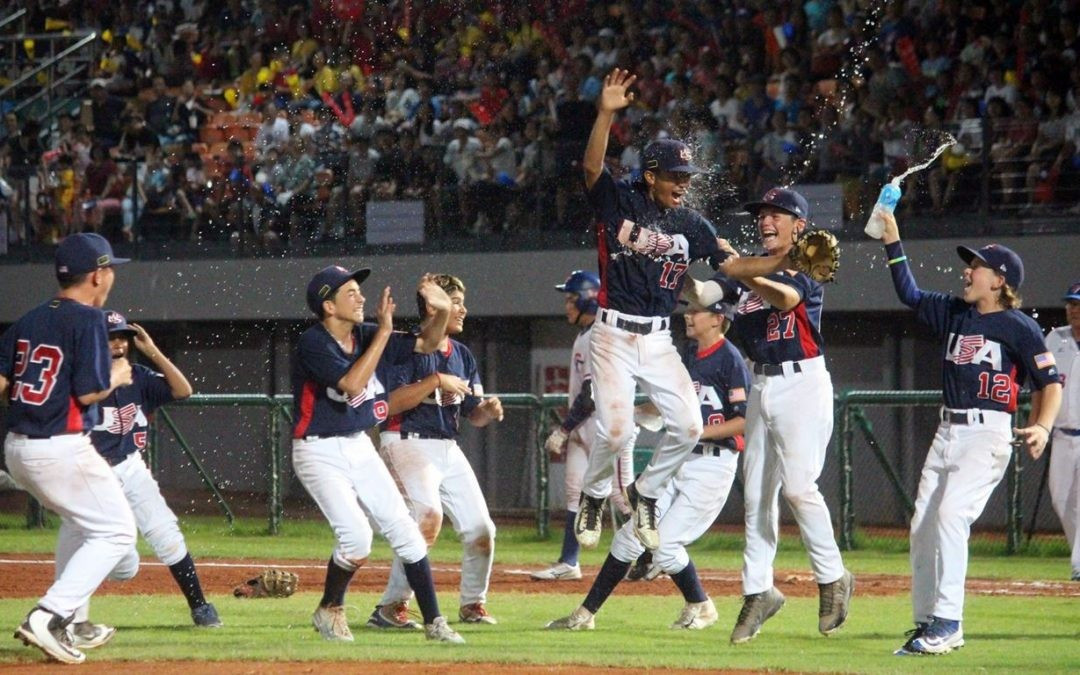 United States beat Chinese Taipei to win Under-12 Baseball World Cup