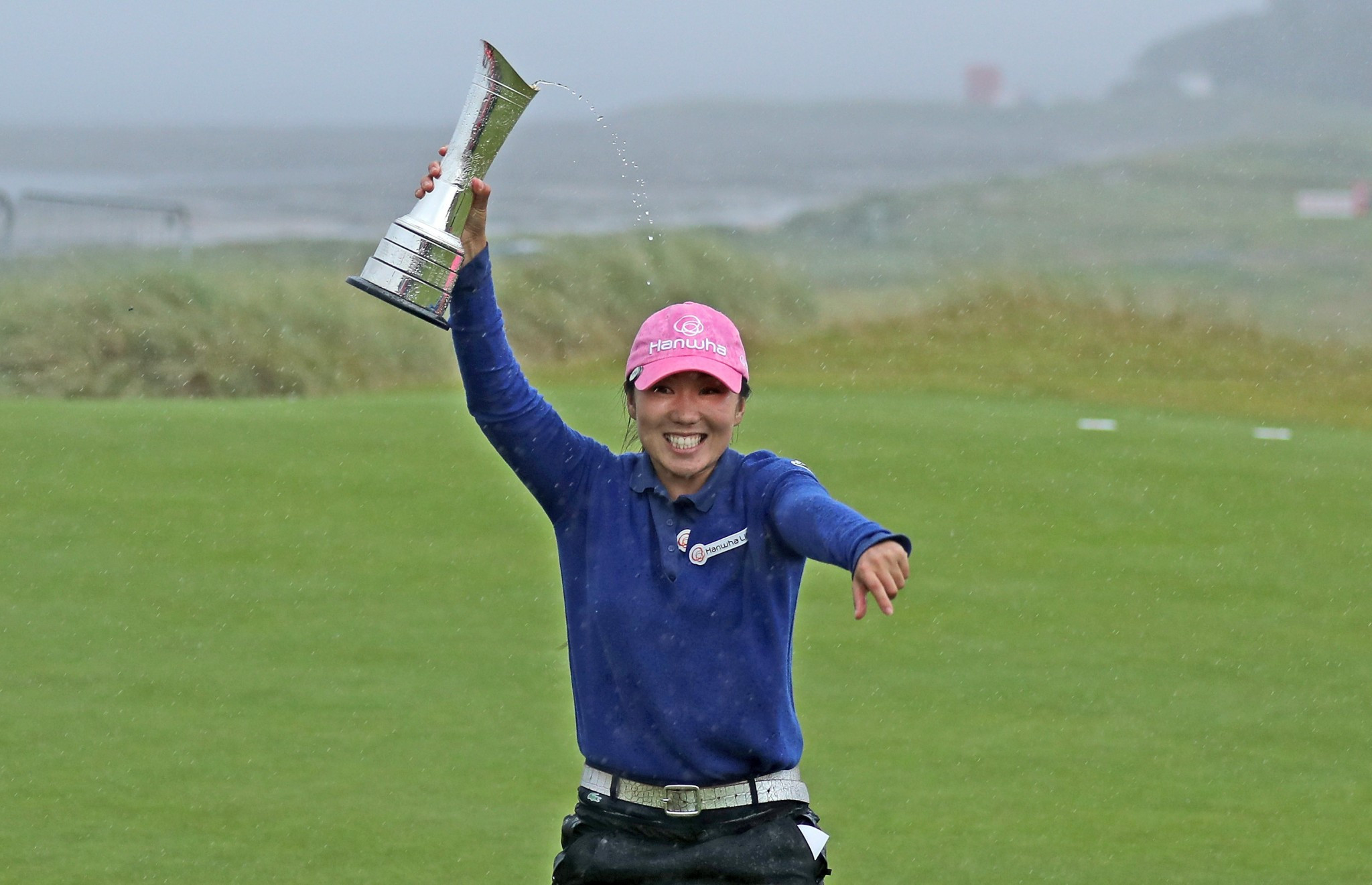 Kim clinches victory at Women's British Open