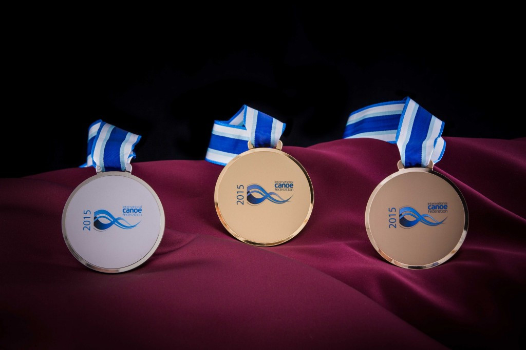 Medals unveiled for 2015 ICF Canoe Slalom World Championships