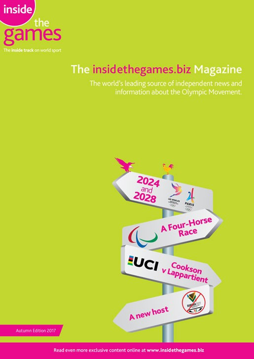 The insidethegames.biz Magazine Autumn Edition 2017