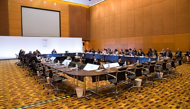 The IOC Executive Board agreed today to publish the Host City contract following the awarding of the 2022 Winter Olympics and Paralympics ©IOC