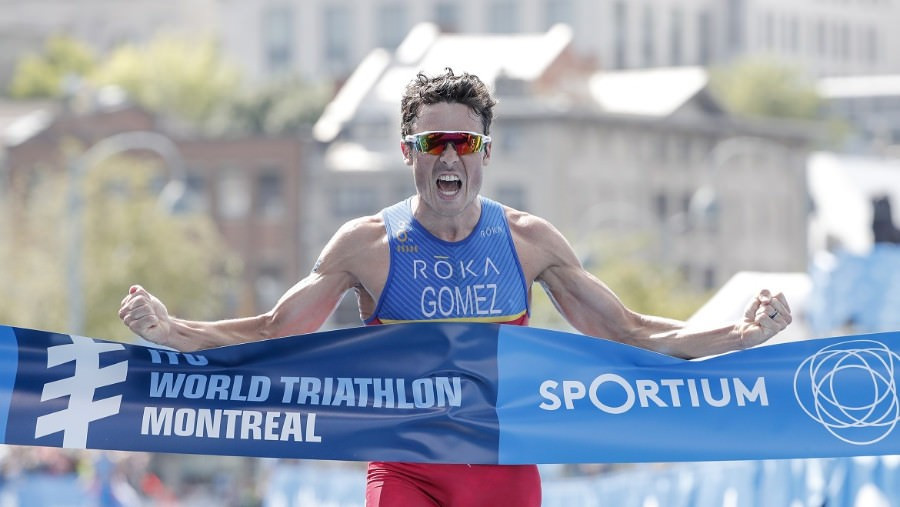 Gomez triumphs at World Triathlon Series in Montreal