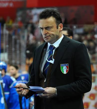 Mair quits as head coach of Italian ice hockey team
