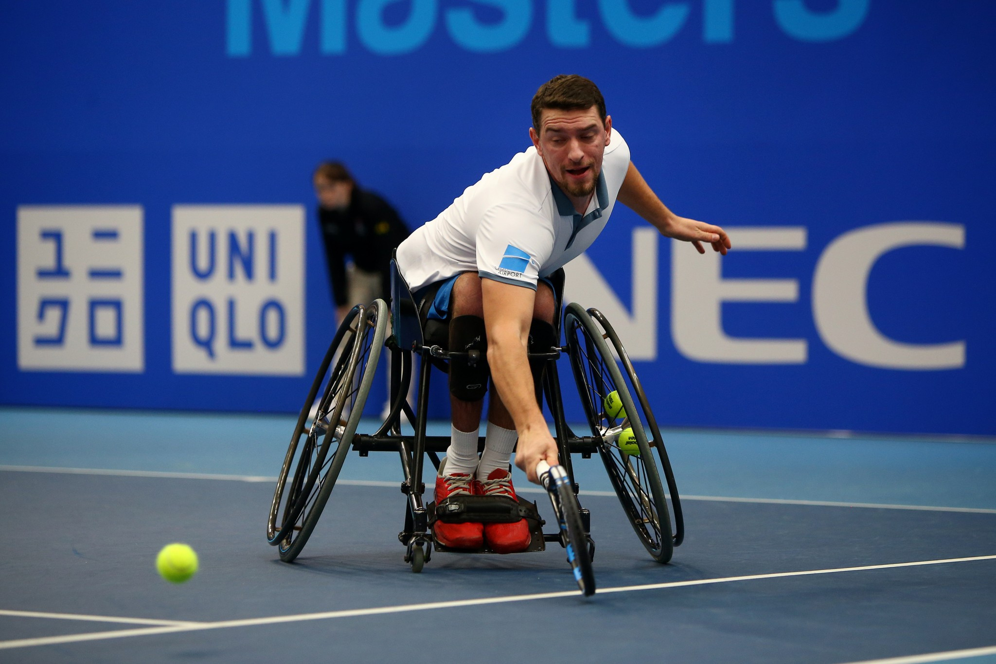 The Wheelchair Tennis Masters only invites the top players in the rankings ©Getty Images