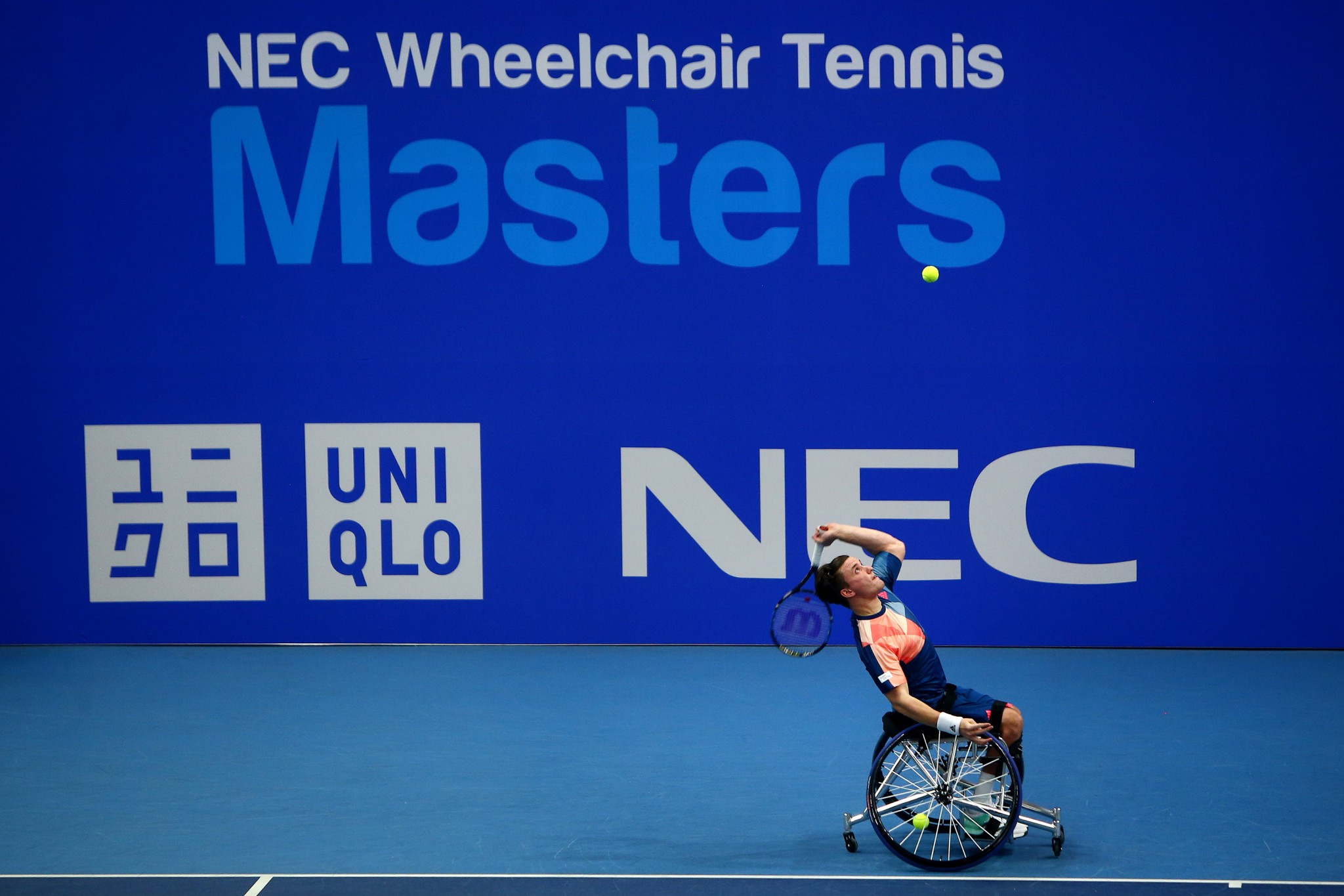 The Wheelchair Tennis Masters has been re-located to Loughborough ©Getty Images