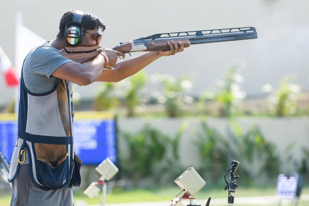 India's Mittal claims double at Asian Shotgun Championships