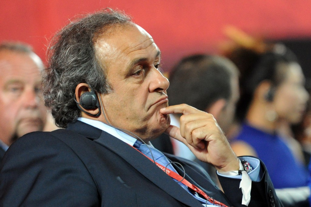 Platini to announce Wednesday he will stand to succeed Blatter as FIFA President