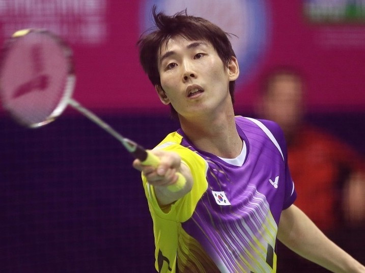 South Korea's Son Wan-ho is the top seed in the men's event in Glasgow ©BWF