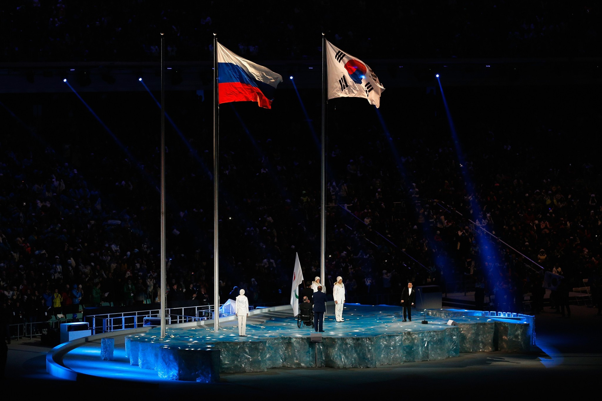 Russia could miss the Pyeongchang 2018 Paralympics following the scandal which emerged after Sochi 2014 ©Getty Images