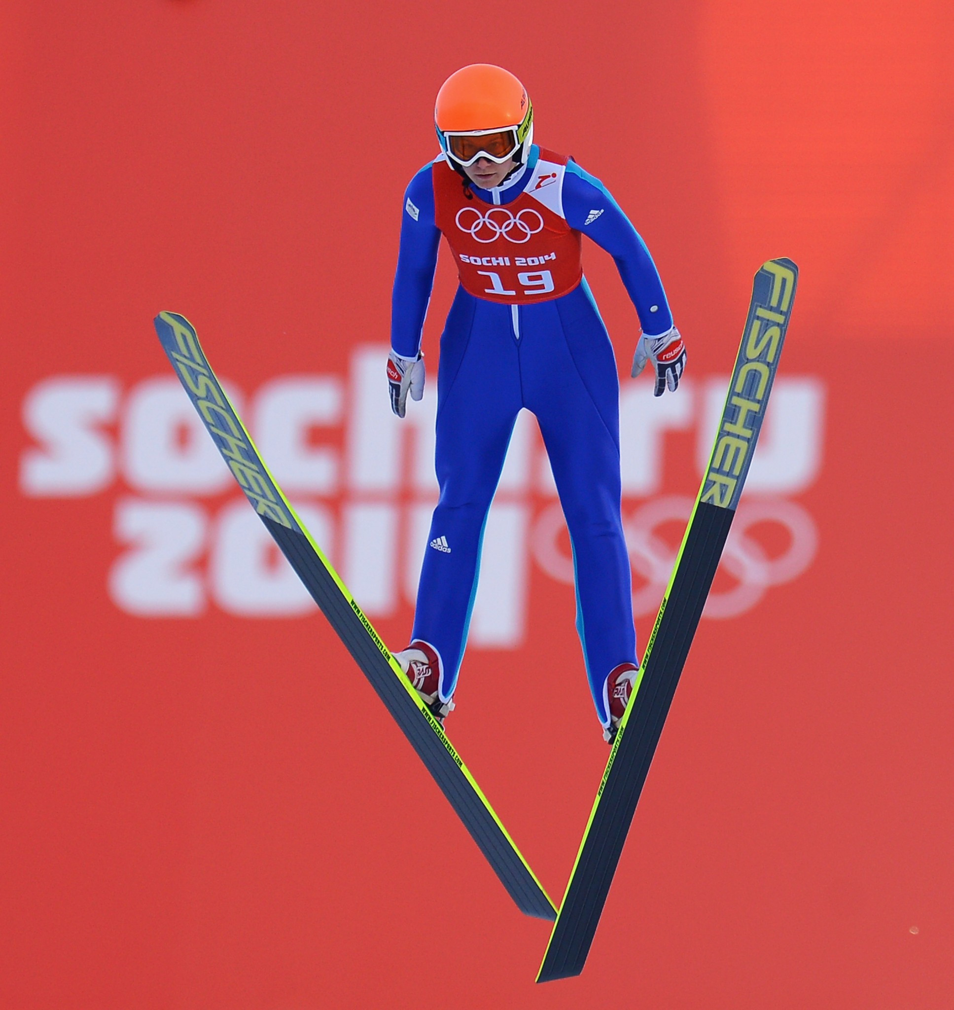 Eva Logar competed at the Sochi 2014 Winter Olympics ©Getty Images