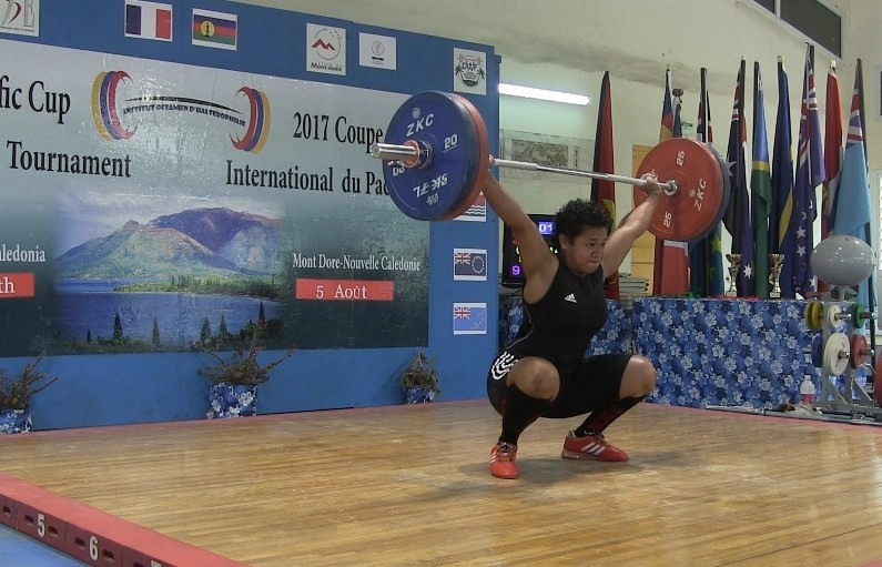 Fijian teenager on course for Commonwealth weightlifting gold breaks 20 records