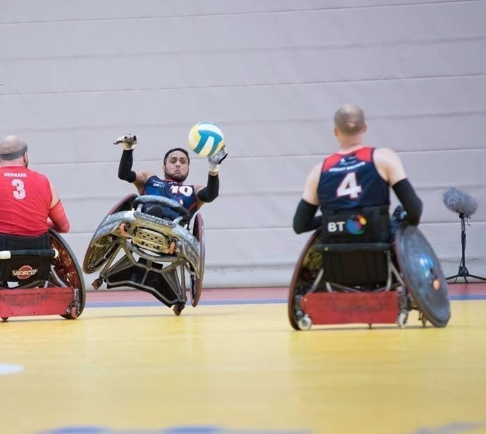Britain won the European Championship title in July ©IWRF