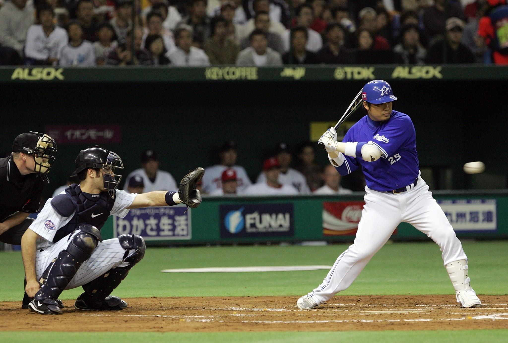 Baseball and softball are taking place at the Yokohama Stadium ©Getty Images