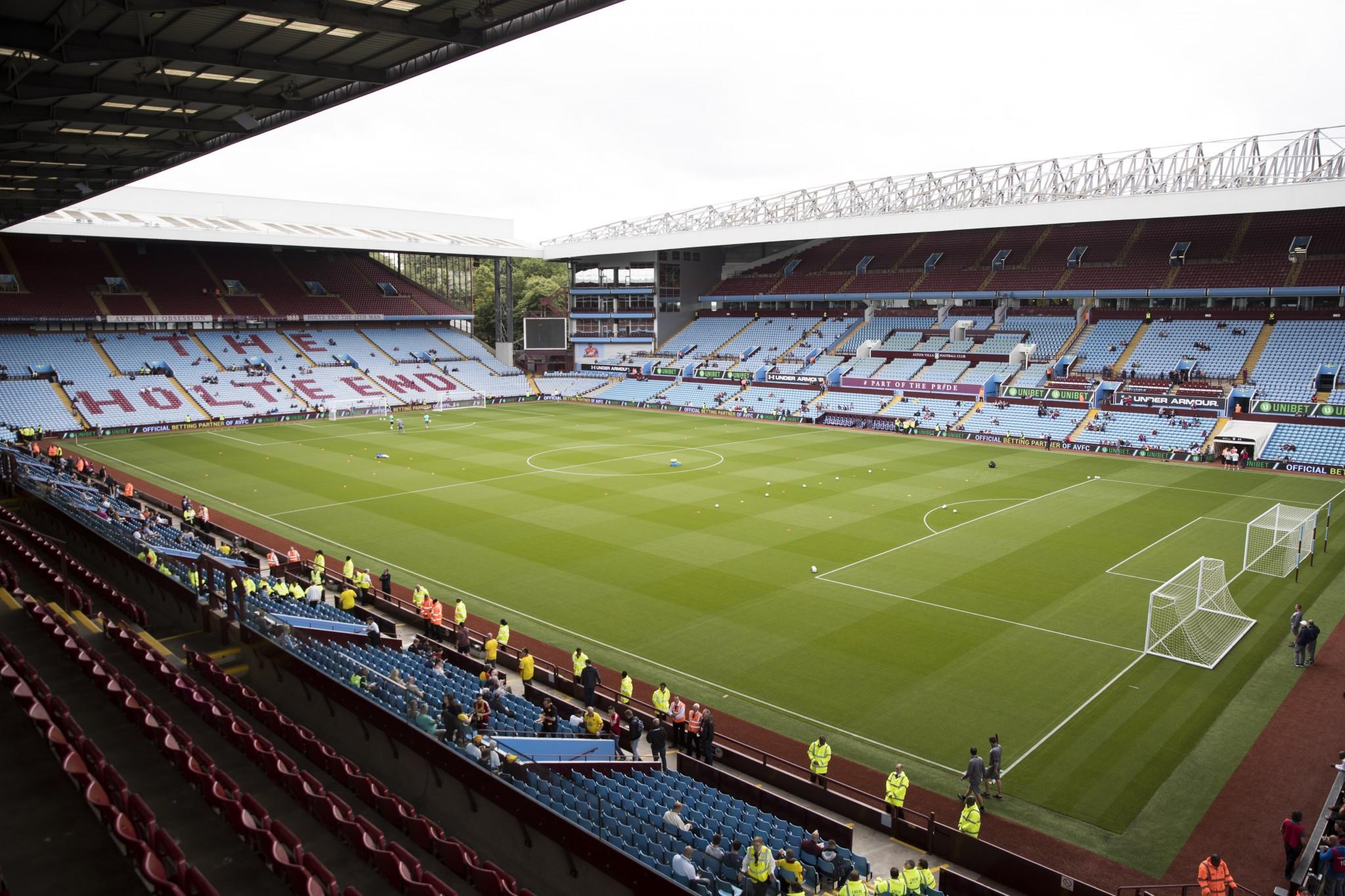 Aston Villa chief executive gives backing to Birmingham 2022 bid