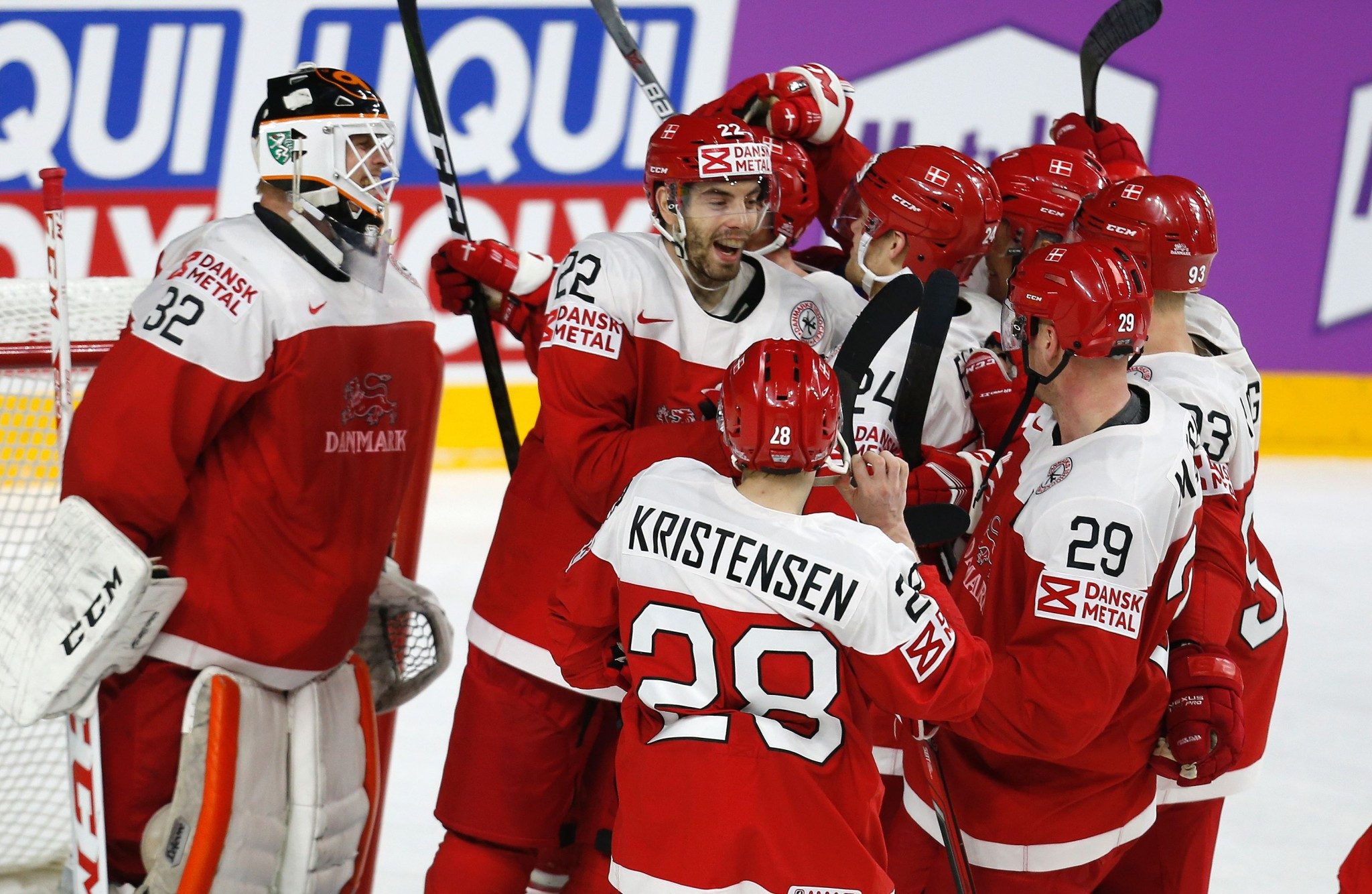 Hosts Denmark will begin the 2018 tournament against Germany ©Getty Images