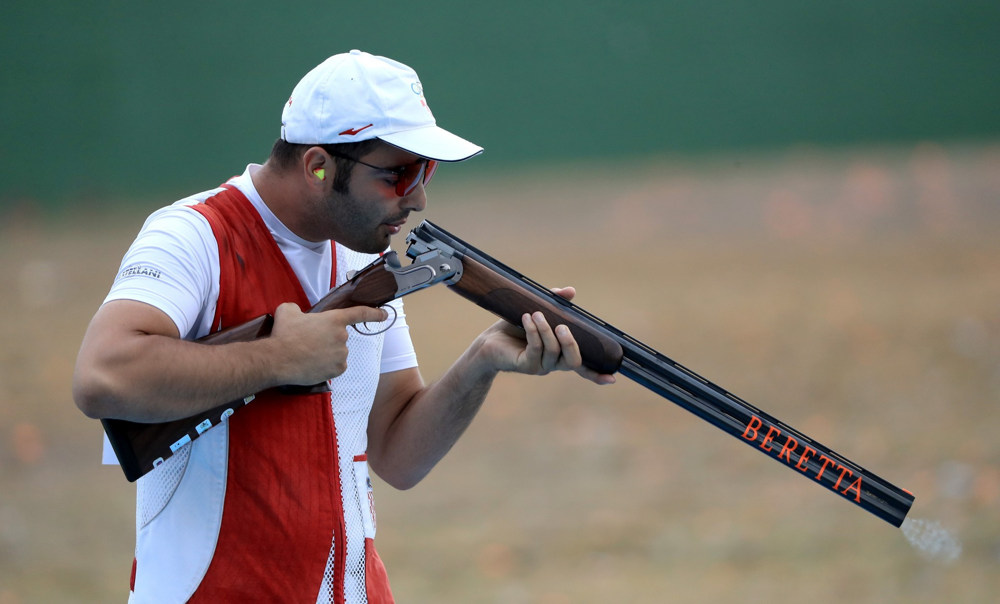 Josip Glasnovic is one of the two shotgun representatives ©Getty Images