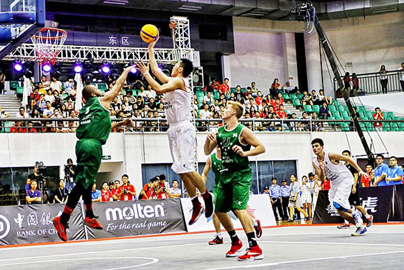 The World 3x3 Basketball University League is due to take place in September ©FISU