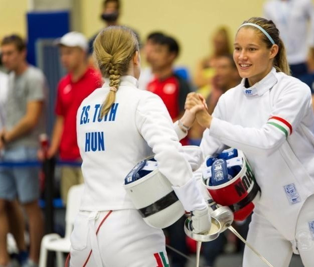 Hungary lost in the bonus round of the fencing stage but still won the overall gold medal ©UIPM