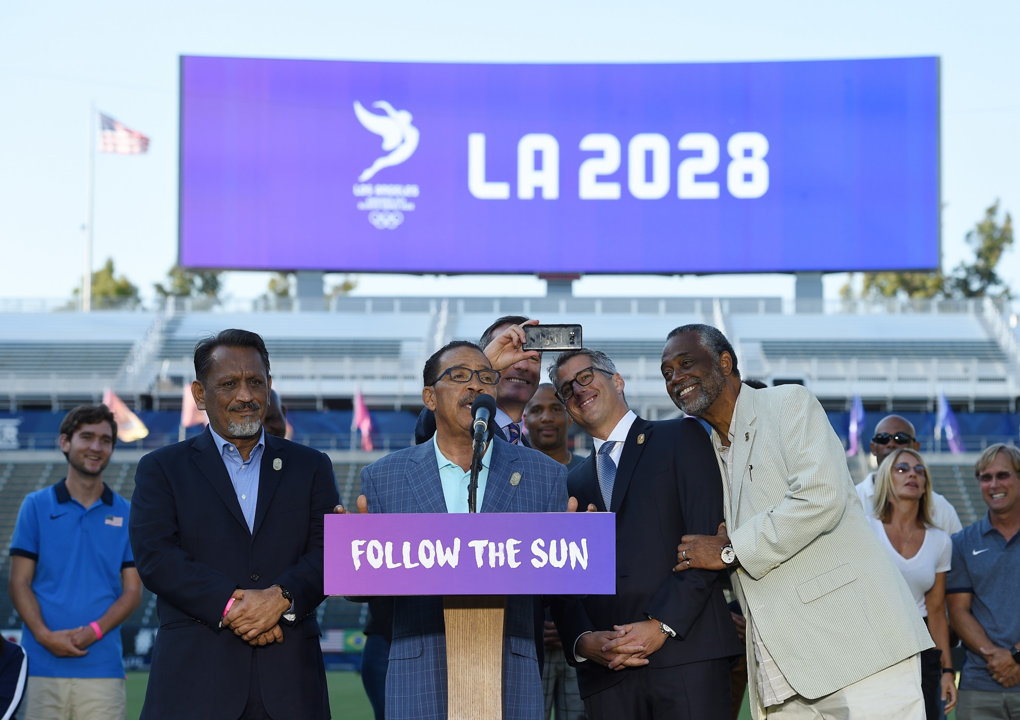 California State Government promise financial backing for Los Angeles 2028