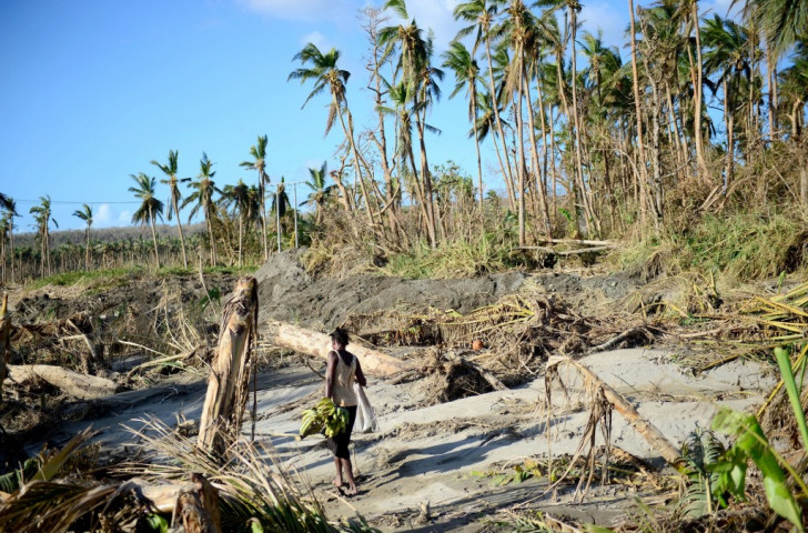 Cyclone Pam ripped through Vanuatu last month destroying homes and sports facilities