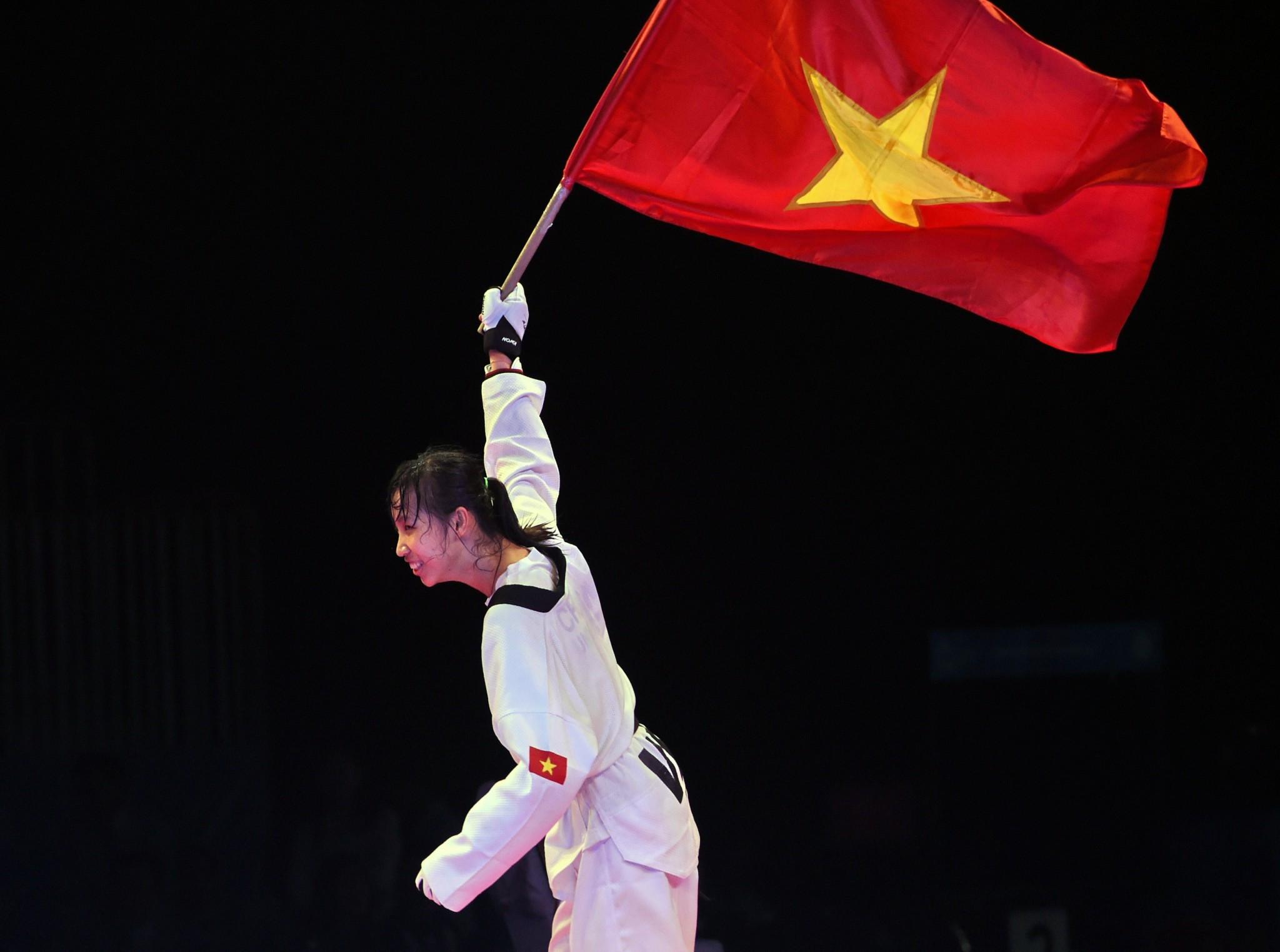 Taekwondo star targets Southeast Asian Games gold