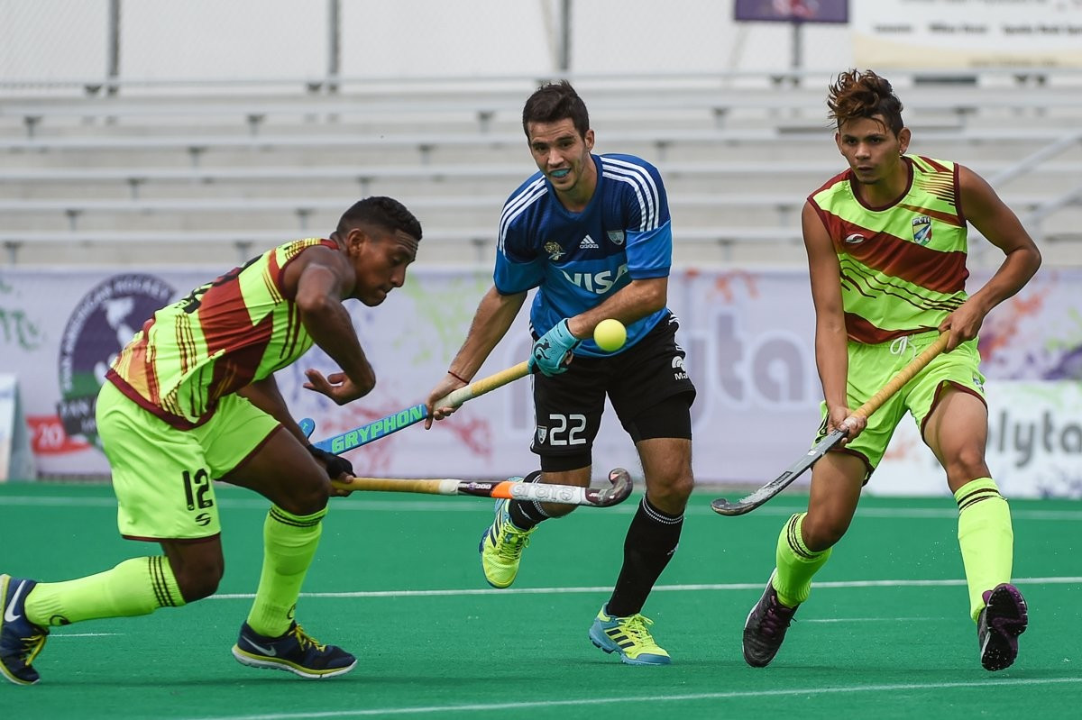 Holders Argentina through to Pan American Hockey Cup semi-finals