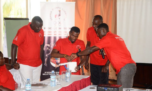 The Ugandan Olympic Committee have held a clean sport workshop ©UOC/Arthur Nuwagaba