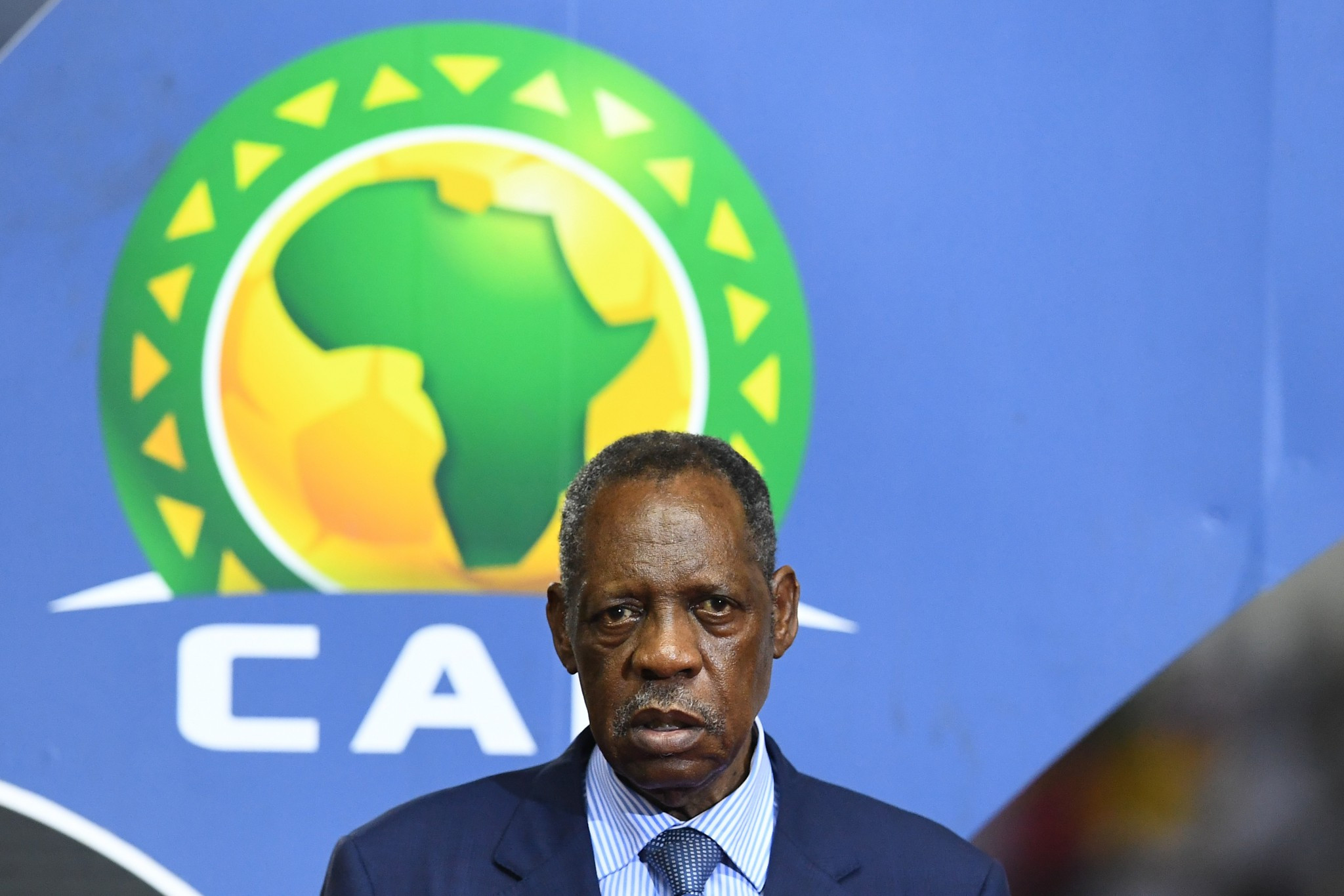 Former CAF President Issa Hayatou has criticised current head Ahmad over his suggestion that Cameroon may be stripped of the hosting rights for the 2019 Africa Cup of Nations ©Getty Images