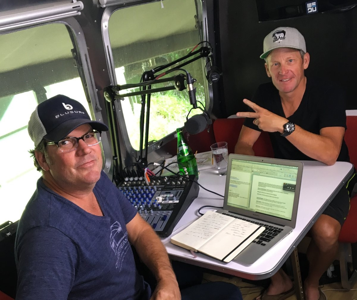 "Colorado Classic organisers have cancelled a partnership with Lance Armstrong's ""Stages"" Podcast ©Twitter/Lance Armstrong"