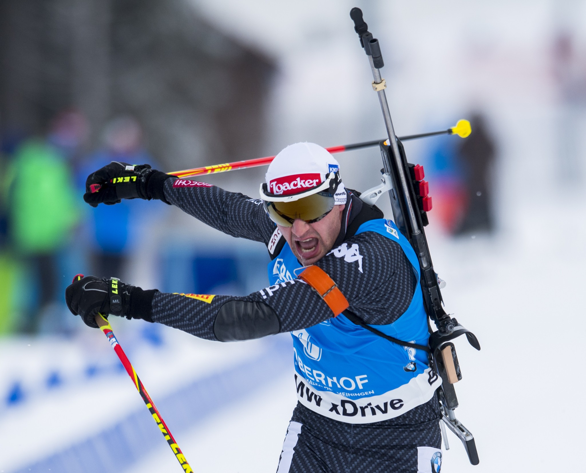 Italy's Windisch hoping for another Winter Olympic biathlon medal