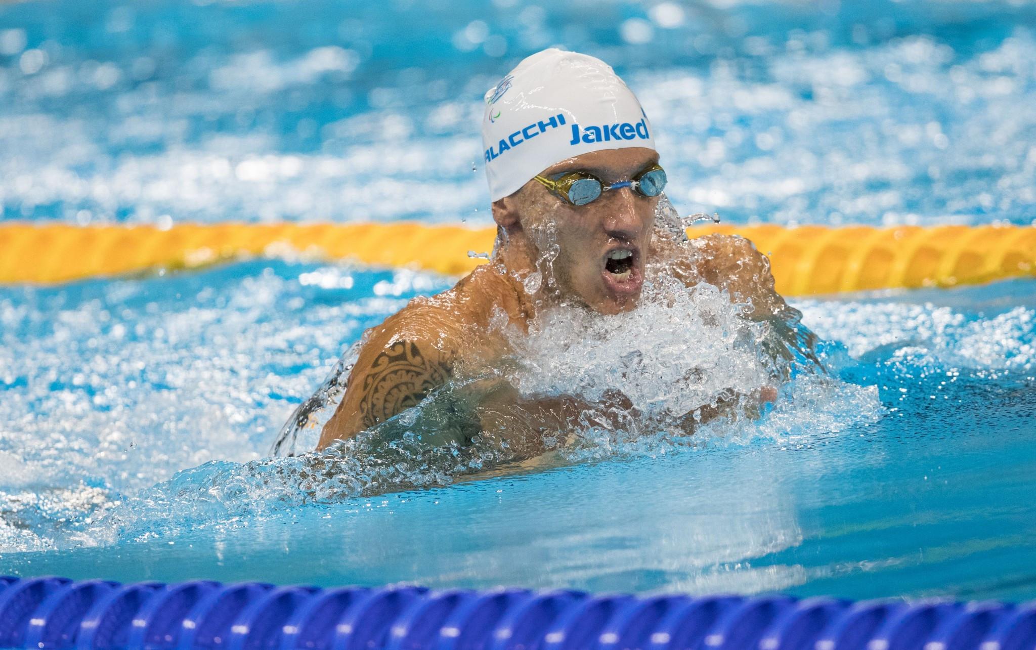 Rio 2016 winners headline Italian team for World Para Swimming Championships