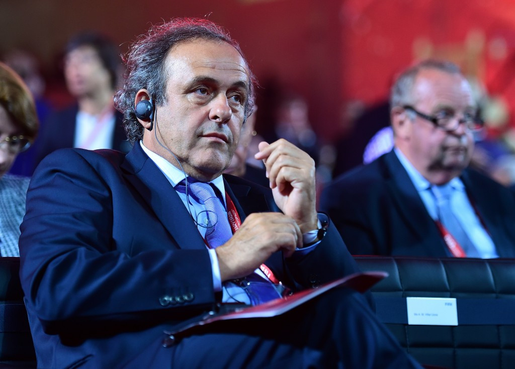 Platini to stand for FIFA Presidency