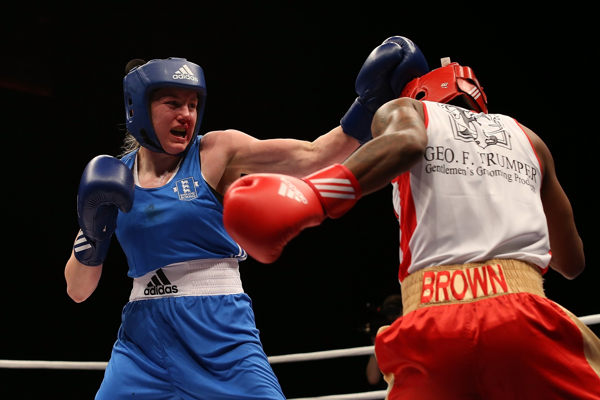 Paige Murney suffered defeat in her 64kg semi-final ©Getty Images