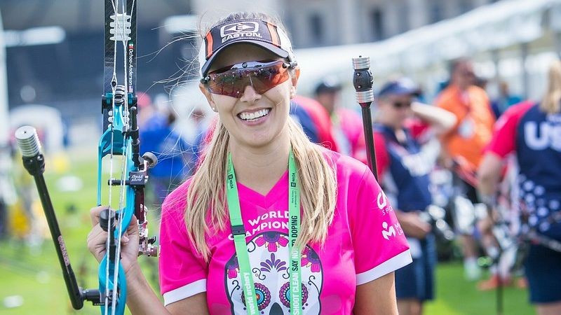 Ochoa-Anderson tops compound qualification at Archery World Cup