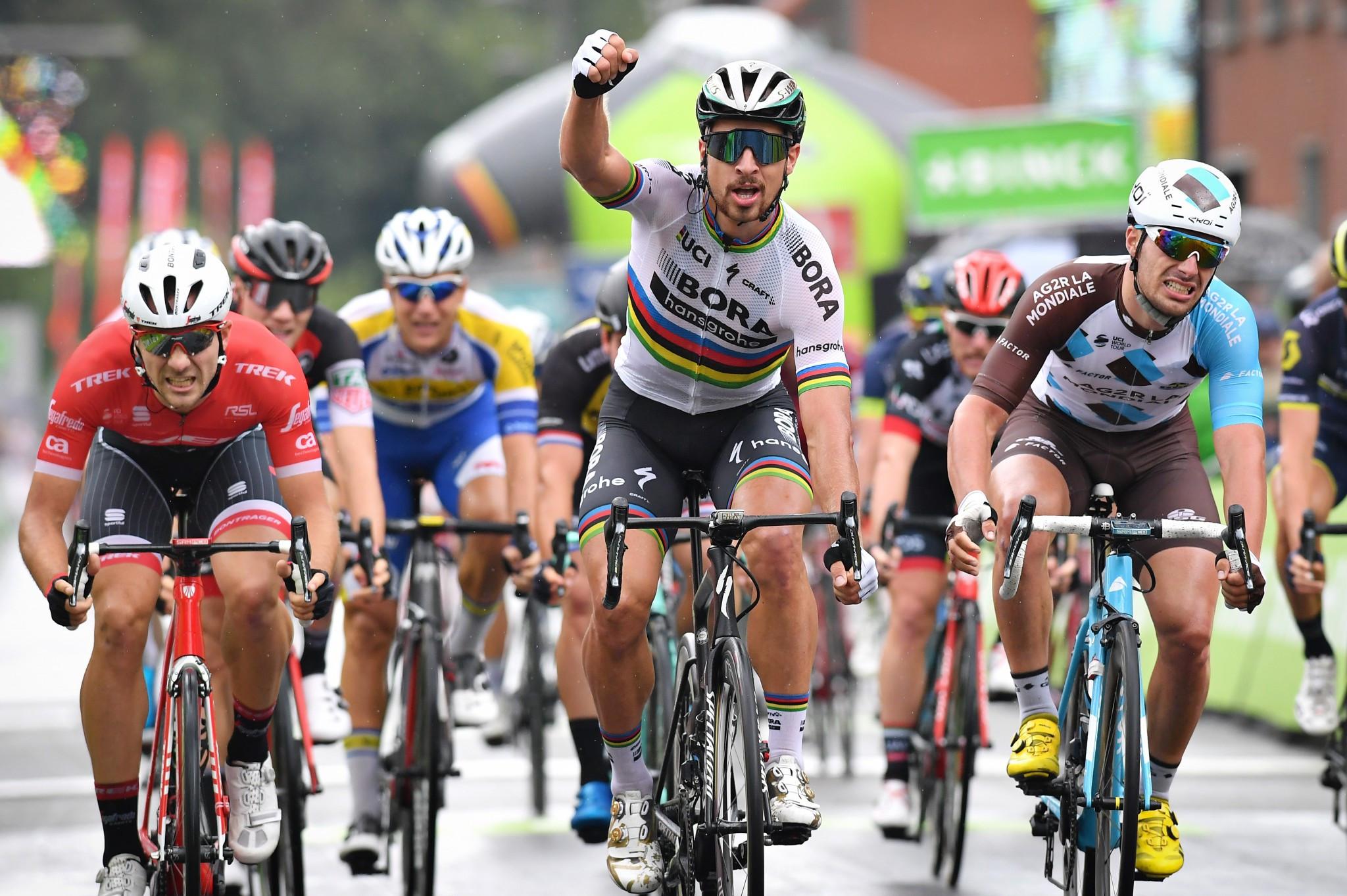 Peter Sagan won the third stage of the BinckBank Tour ©Getty Images