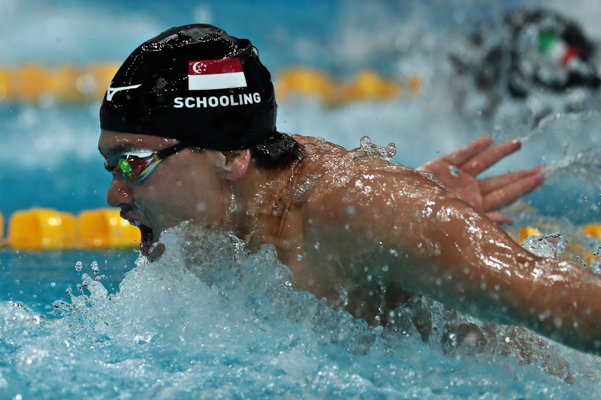Joseph Schooling is the reigning Olympic champion in the men's 100m butterfly ©Getty Images