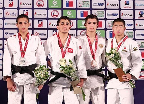 Akkus enhances reputation by claiming gold at Cadet World Championships